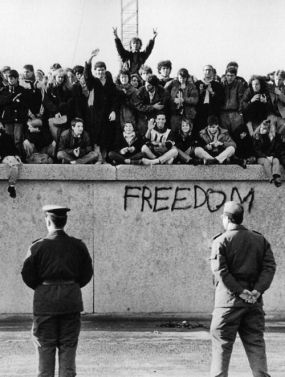 Berlin Wall Freedom 1989