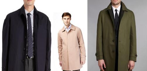 Raglan Sleeve Raincoats